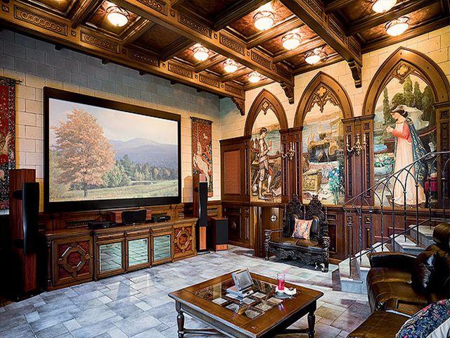 фреска в романском и интерьере
