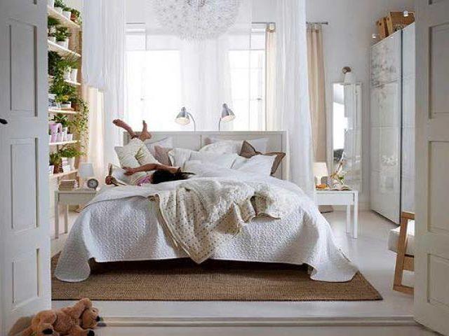 Интерьер спальни 2 на 2 в стиле прованс