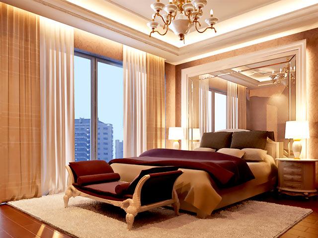 современная комната в венецианском стиле