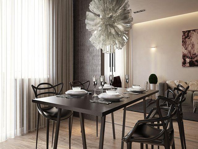 стулья с необычными спинками в нью-йоркском стиле