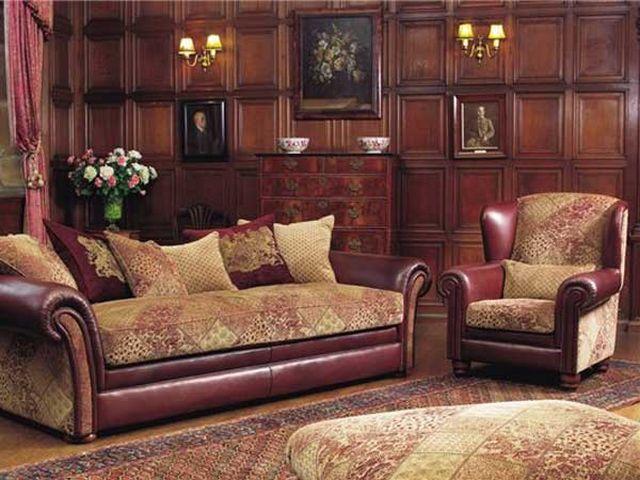 деревянные панели на стенах в викторианском стиле