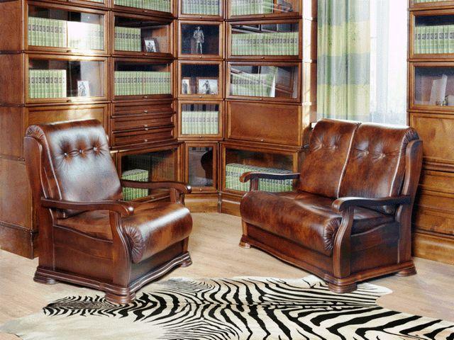 Мебель в колониальном интерьере