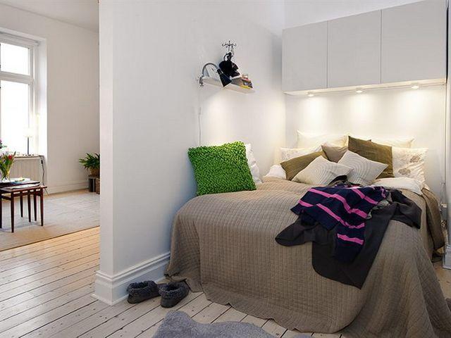 Комнаты, разделенные перегородкой из гипсокартона
