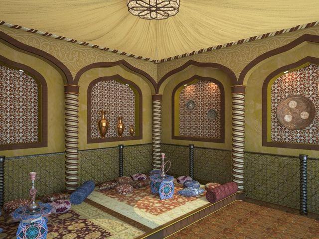 стенная ниша в турецком стиле