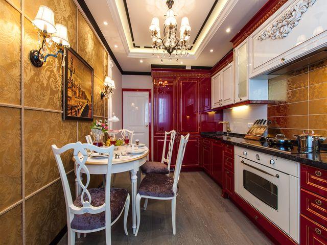 Интерьер кухни площадью 13 кв. м