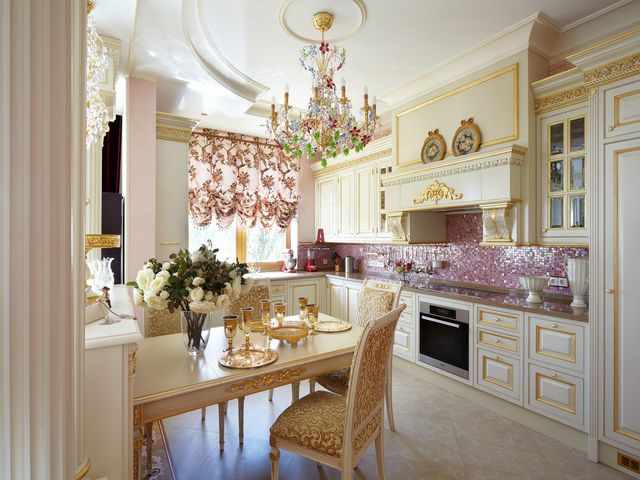 Интерьер кухни с удобной планировкой