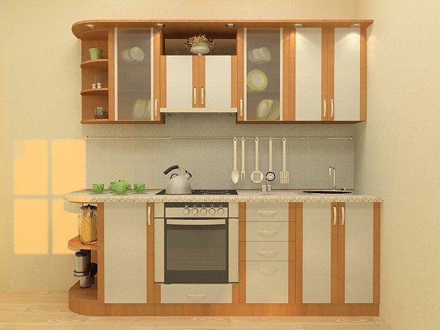 Компактный гарнитур – для компактной кухни