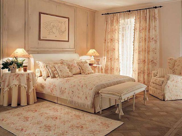 Интерьер маленькой спальни в стиле прованс