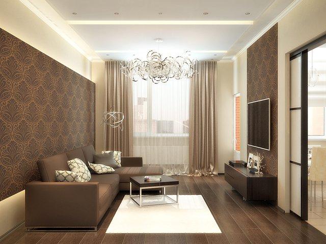 комната, оформленная со вкусом