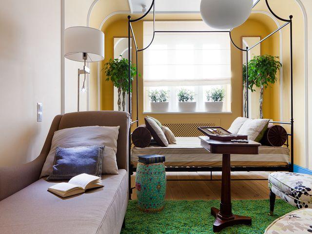 Игра с цветами – возможность визуально изменить маленькую комнату