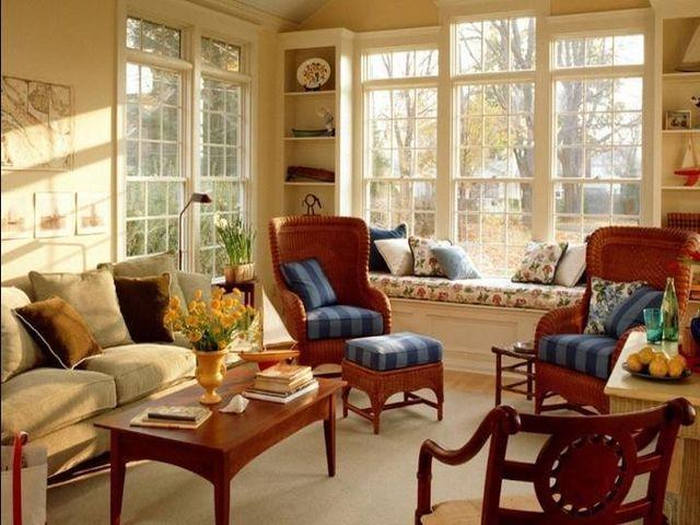 асимметричное расположение мебели