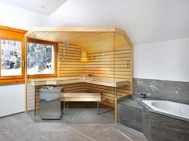 баня в стиле контемпорари