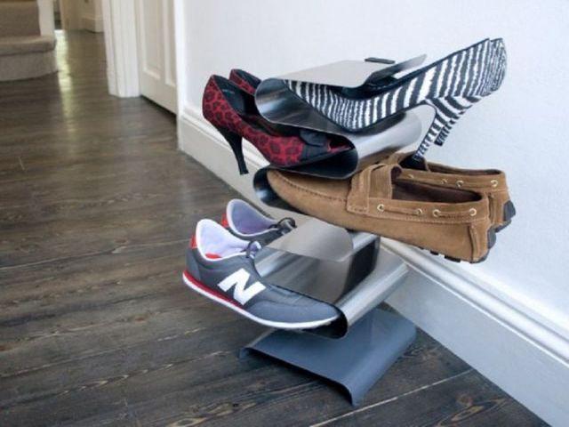 Креативная полка для обуви