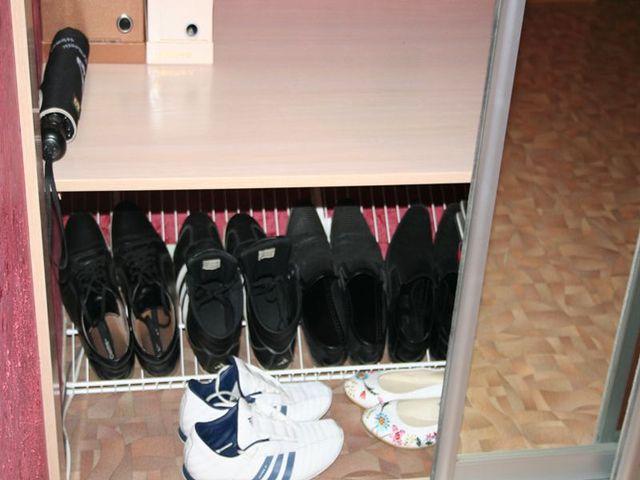шкаф-купе для обуви