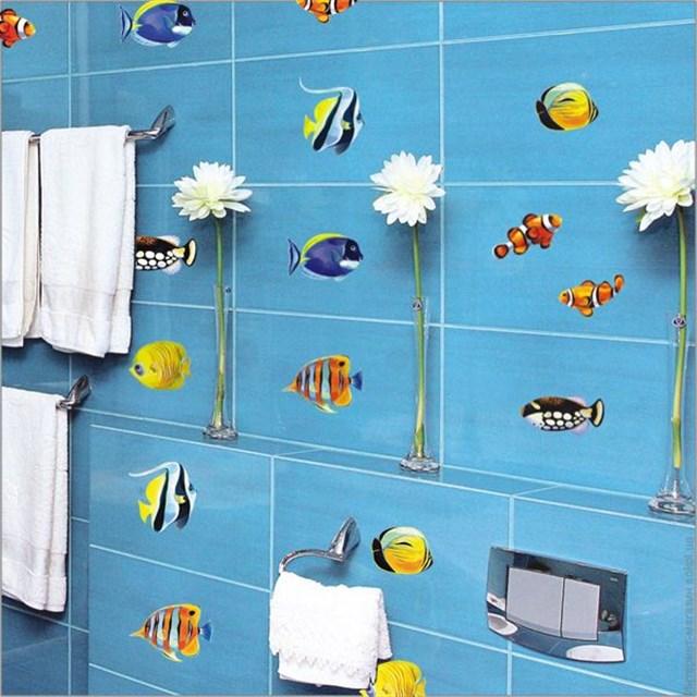 Декор потолка и стен ванной комнаты своими руками