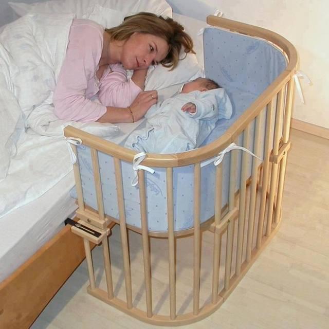 Размещение кроватки малыша