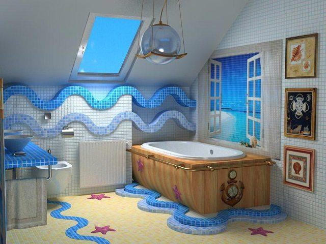 идеи по декору ванной комнаты