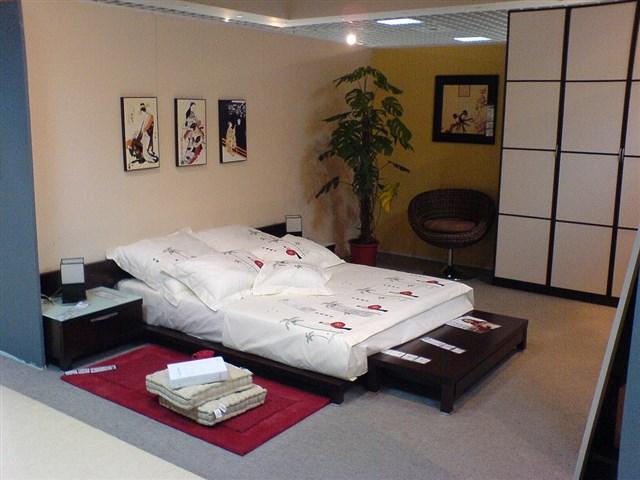 Мебель и аксессуары для японской спальни