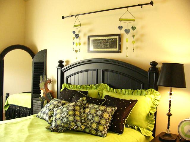 Природные цвета для эко спальни
