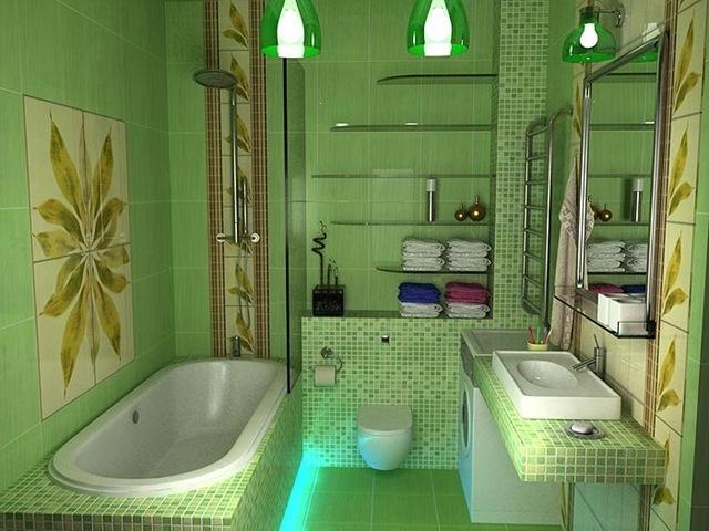 Зелёная отделка