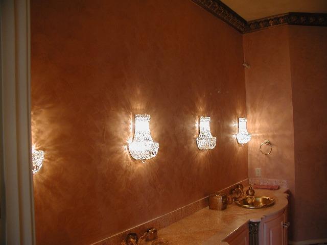 Санирующие штукатурки для ванной комнаты