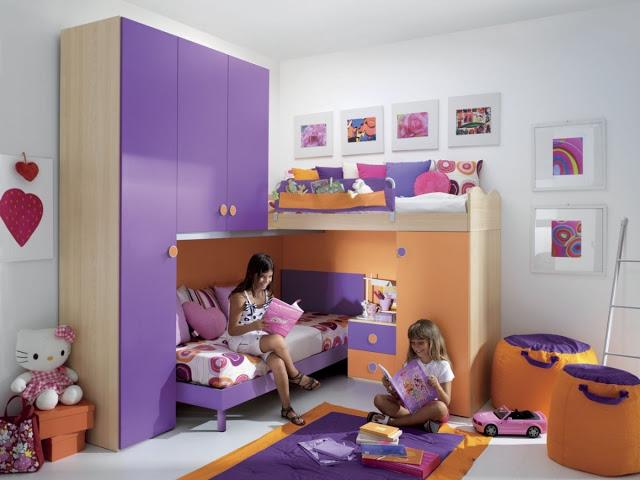 Зона игр для детской комнаты