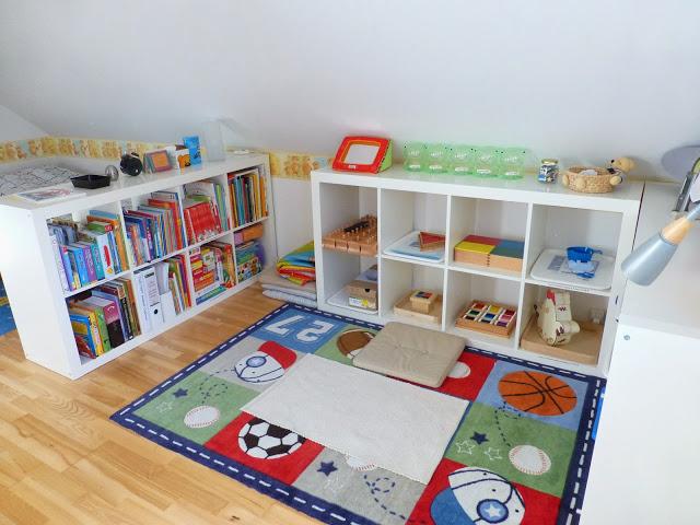 Зона хобби в детской комнате