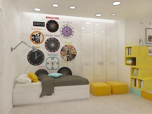 Интерьер современной подростковой комнаты