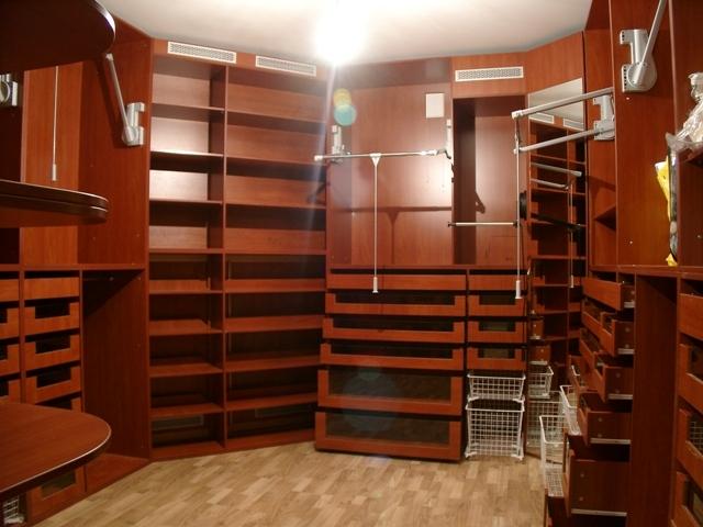 Модели мебели для гардеробной