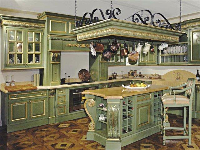 Пол для итальянского стиля кухни