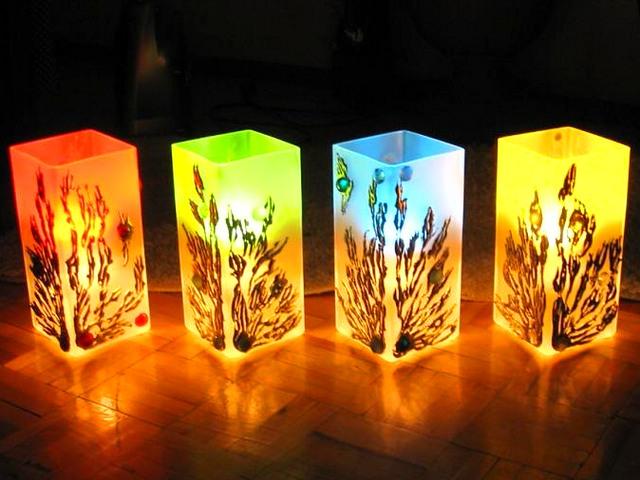 Напольные точечные лампы