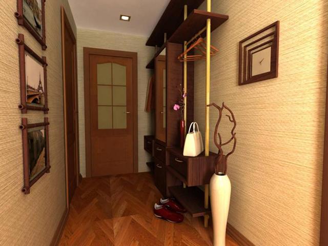 Флизелиновые обои для дизайн коридора