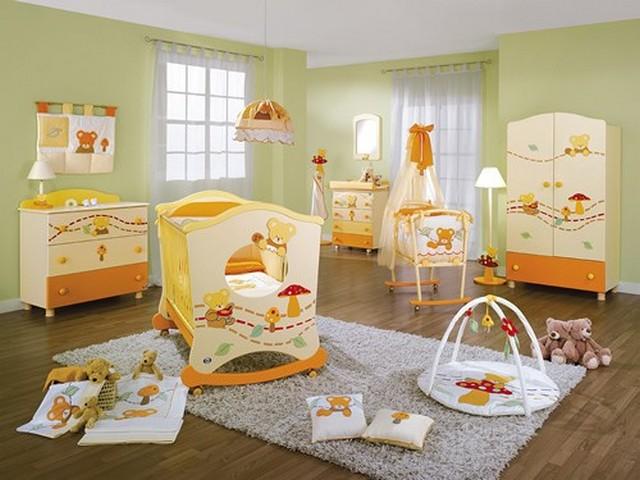 дизайн для двух младенцев