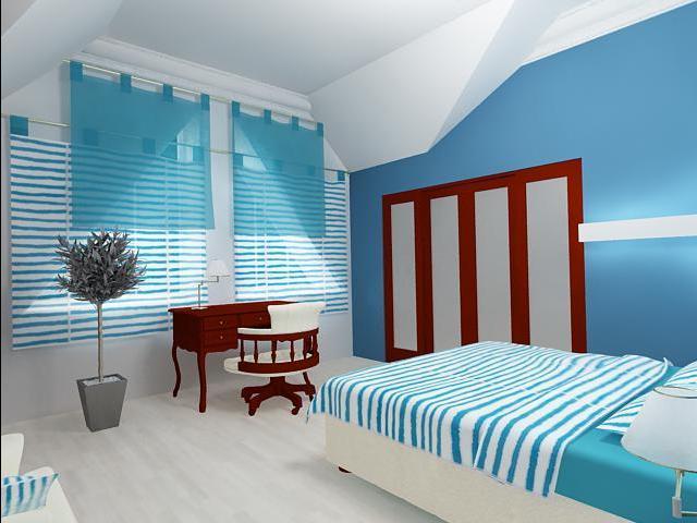 Дизайн детской комнаты для мальчика в морском стиле (12 кв. м)