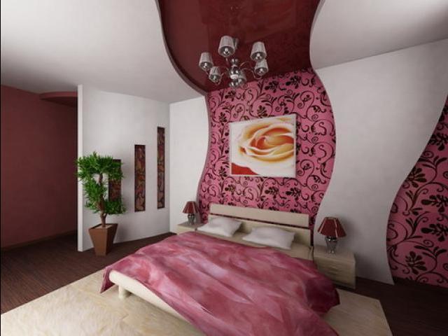 Красивый дизайн спальни хрущёвки