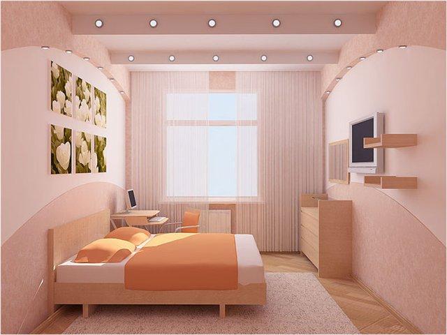 Цветовая гамма в спальне
