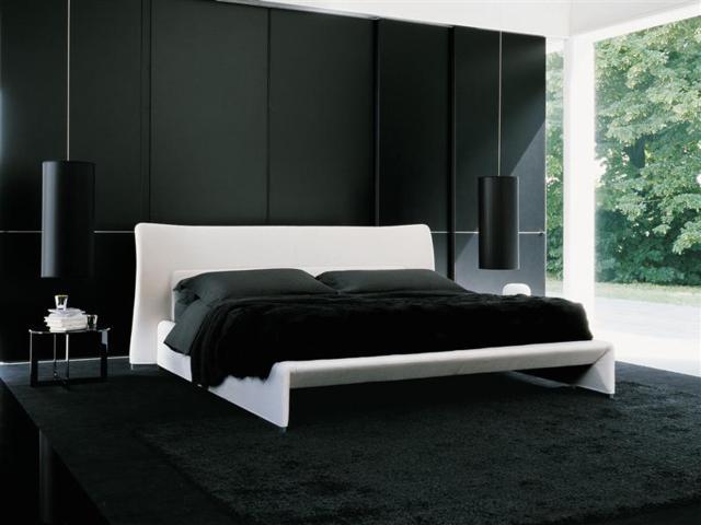 Чёрная мебель