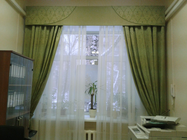 уютные льняные шторы