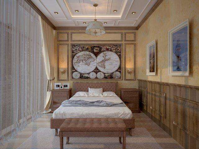 спальня в провансе