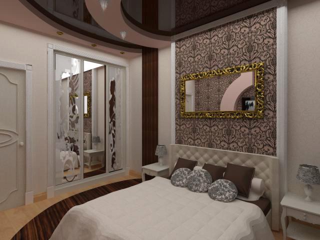 Зеркала в спальне в стиле арт-деко