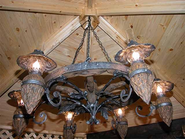 Стилизованные под старину светильники