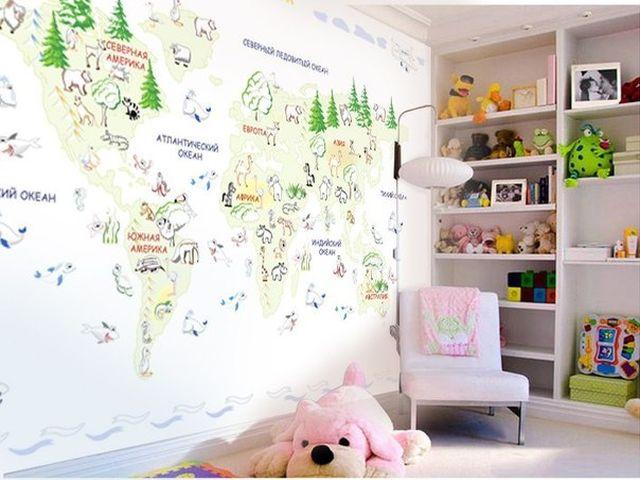 обои-раскраска для девочки 5-6 лет