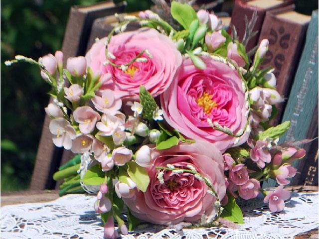 искусственные розы невозможно отличить от настоящих!