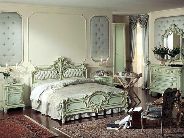 Сексуальный стиль спальни