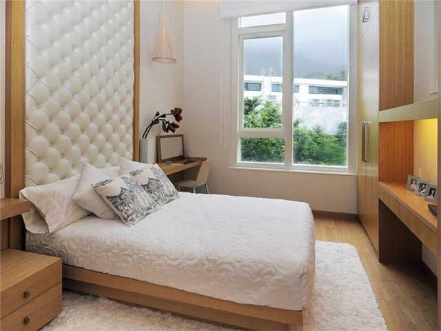 обивка мебели в маленькой спальне