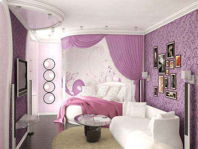 Дизайн спальни для девушки