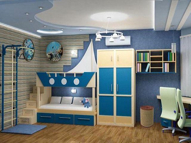 Сложно переоценить пользу обоев в морском стиле для детской комнаты