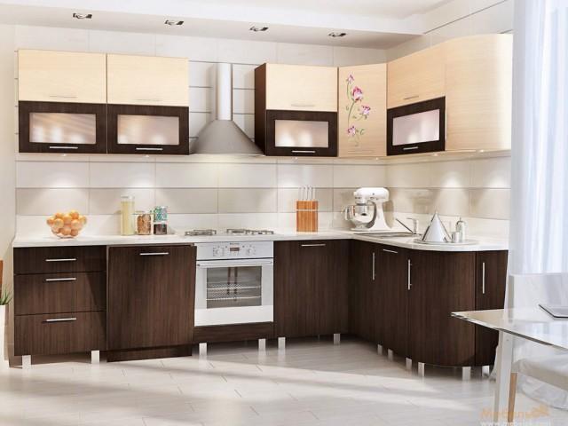 Кухонный гарнитур хай-тек