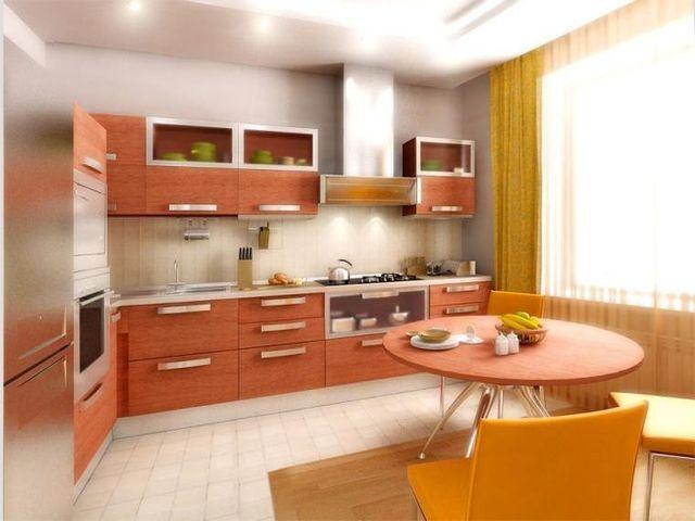 «персиковая» кухня