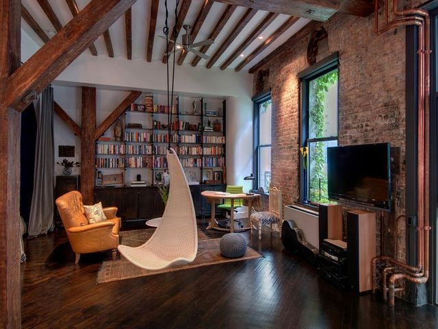качели в квартире – замечательное решение